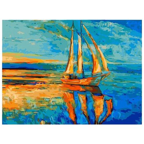 Купить Белоснежка Картина по номерам Под парусами 30х40 см (032-AS), Картины по номерам и контурам