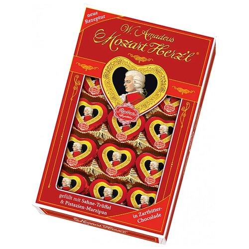 набор конфет reber mozart kugeln 240 г Набор конфет Reber W.Amadeus Mozart Herz'l 150 г