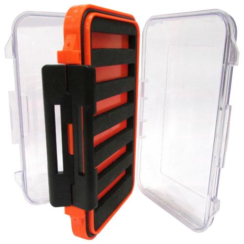 Коробка для приманок для рыбалки HELIOS HS-ZY-039 15х10х4 см оранжевый/черный