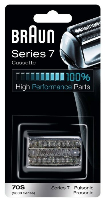 Бритвенная кассета Braun Series7 (70S) Pulsonic