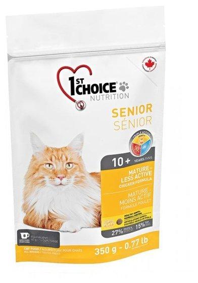 Корм для пожилых кошек 1st Choice Senior для профилактики МКБ, с курицей