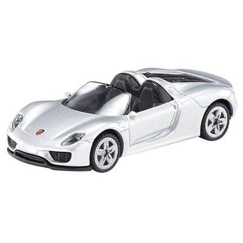 Легковой автомобиль Siku Porsche 918 RSR (1475) 1:55 9.7 см серебристый игрушка siku машинка порш 918 rsr 7 8 9 7 3 5см 1475