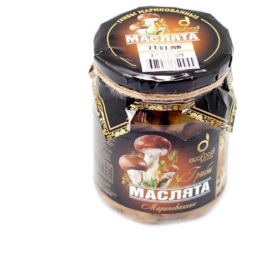 Маслята Ecofood маринованные 520 гГрибы консервированные<br>