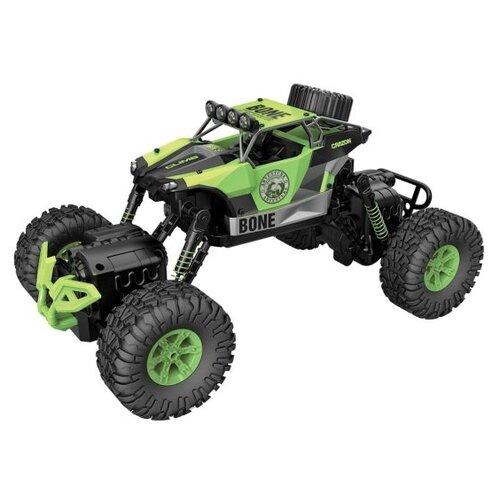 Купить Внедорожник Пламенный мотор ПМ 003 (870255/870256) 1:16 33.5 см зеленый, Радиоуправляемые игрушки