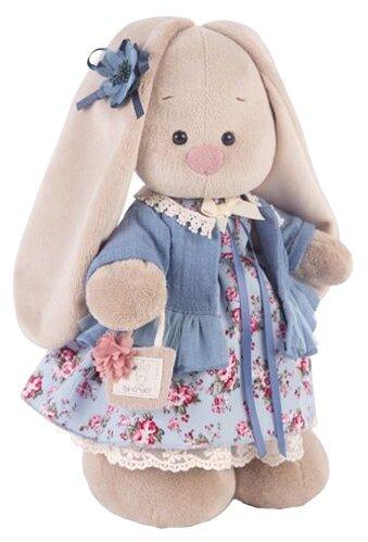 Мягкая игрушка Зайка Ми Голубой василёк 32 см