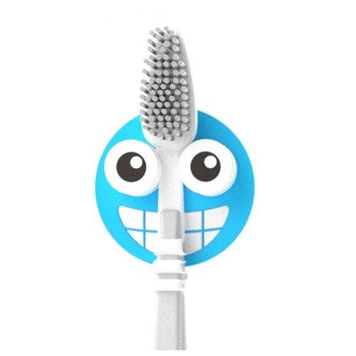 Держатель balvi Emoji для зубной щётки синий держатель для зубной пасты и щеток balvi kitty