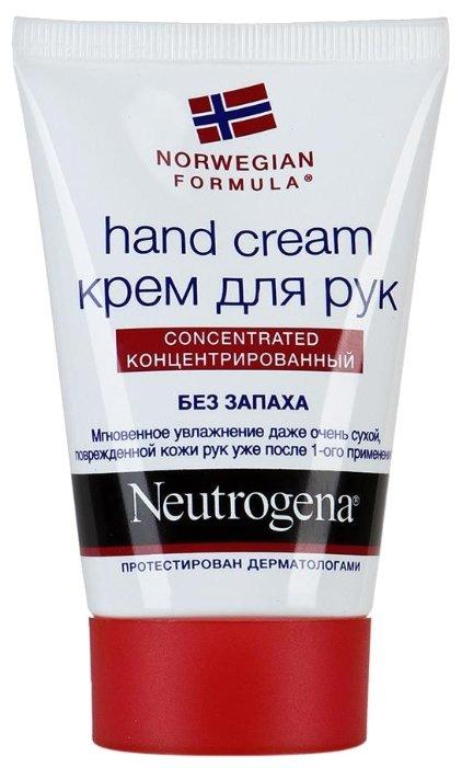 Крем для рук Neutrogena Norwegian formula без запаха