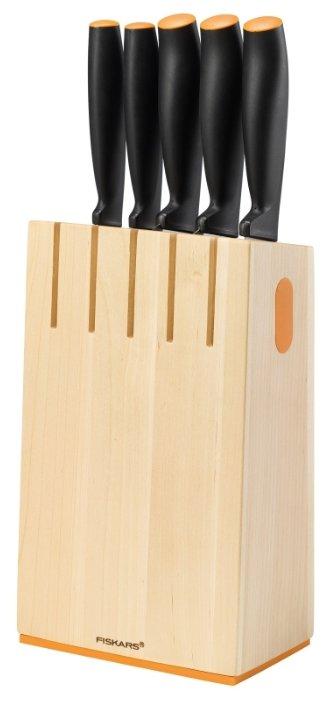 Набор FISKARS Functional form 5 ножей с подставкой