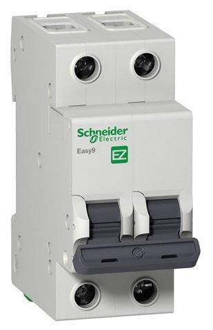 Автоматический выключатель Schneider Electric Easy 9 2P (C) 4,5kA