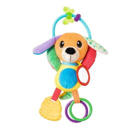 Прорезыватель-погремушка Chicco Щенок 90756 разноцветный chicco погремушка ключи на кольце голубая chicco