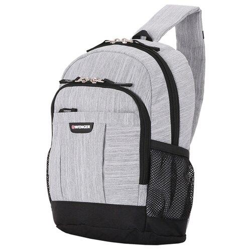 Фото - Рюкзак WENGER 2610424550 серый рюкзак городской wenger urban contemporary с одним плечевым ремнем темно серый 19х12х33 см 8 л шт