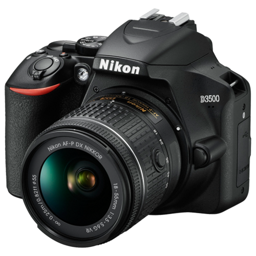 Фотоаппарат Nikon D3500 Kit черный AF-P 18-55mm f/3.5-5.6 VR