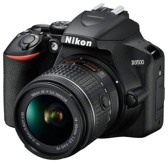 Nikon Зеркальный фотоаппарат Nikon D3500 Kit