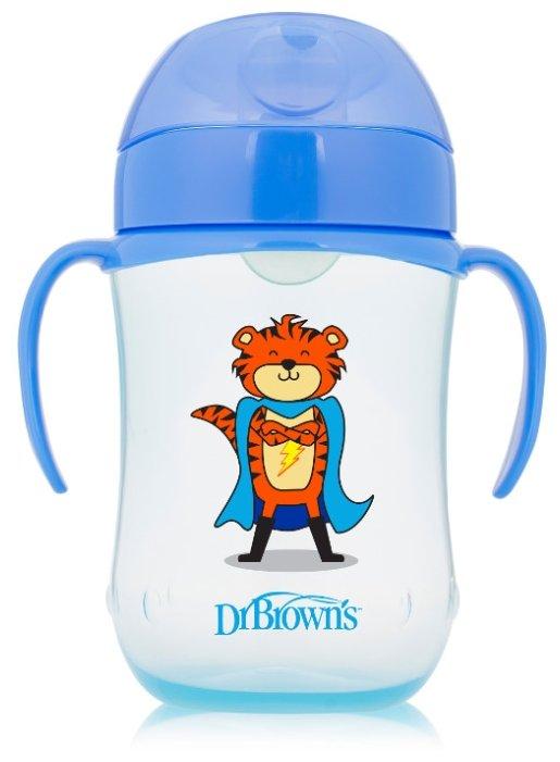 Поильник-непроливайка Dr. Brown's Soft-Spout Toddler Cup TC91024/TC91025, 270 мл