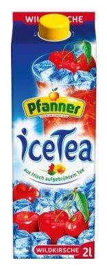 Чай Pfanner Дикая Вишня с пониженным содержанием сахара, тетра-пак