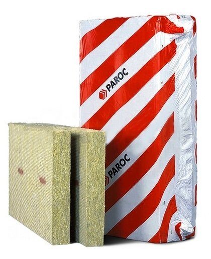Каменная вата Paroc Linio 15 1200x600х40мм 6 шт