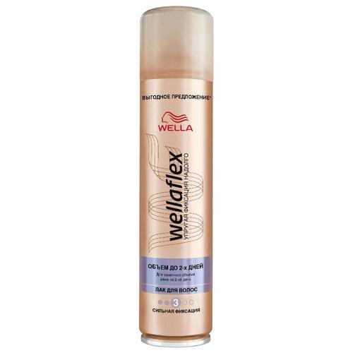 Wella Лак для волос Wellaflex Объем до 2 дней сильной фиксации, сильная фиксация, 400 млЛаки и спреи<br>