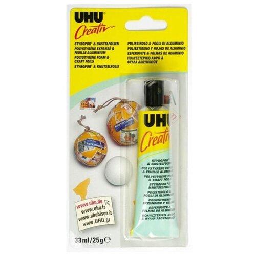 Клей универсальный UHU Creativ 47185 25 г клеящие блёстки uhu young creativ матовые 6 х10 мл