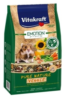 Корм для хомяков Vitakraft Emotion Pure Nature Veggie