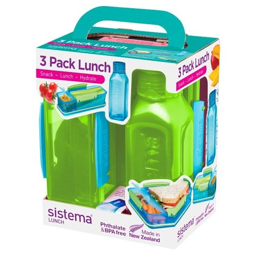 Sistema Набор для ланча Lunch 1595 зеленый