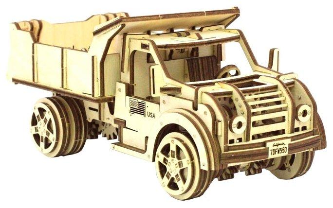 Сборная модель Wood Trick Грузовик-самосвал (1234-3)