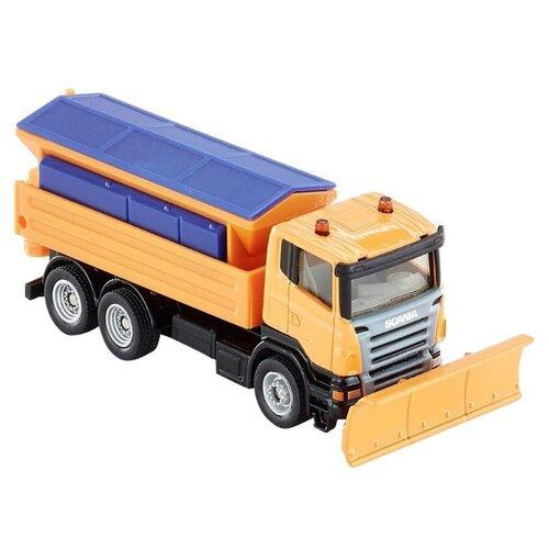Купить Снегоуборщик Siku Scania (1898) 1:87 11 см оранжевый/синий, Машинки и техника