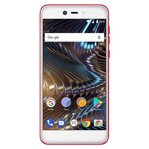Смартфон BQ 5209L Strike LTE красный смартфон bq bq 4072 strike mini blue