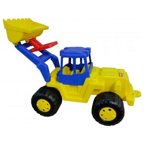 Каталка-игрушка Полесье Великан (38081) желтый/синий каталка игрушка полесье биосфера котёнок 54456
