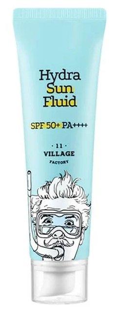 Увлажняющий солнцезащитный крем-флюид Village 11 Factory Hydra Sun Fluid SPF50, 25мл