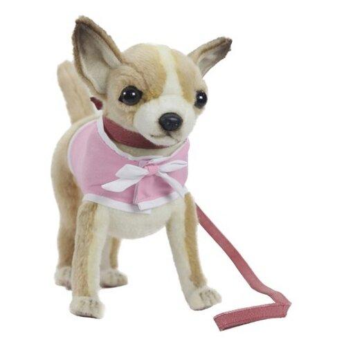 Купить Мягкая игрушка Hansa Чихуахуа в розовом платье 24 см, Мягкие игрушки