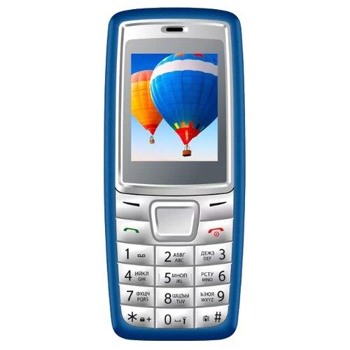 Телефон VERTEX M111 синий мобильный телефон vertex m111 blue grey