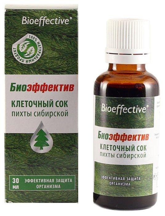Bioeffective Клеточный сок пихты сибирской
