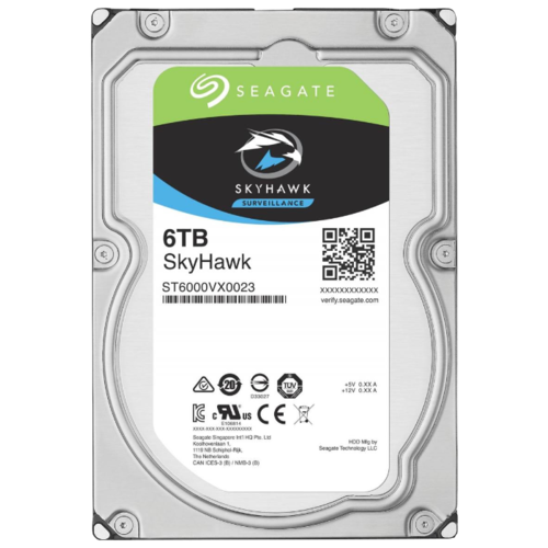 Жесткий диск Seagate SkyHawk 6 TB ST6000VX0023