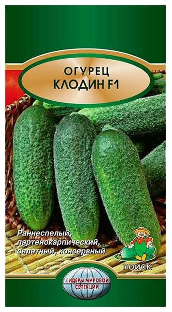 Семена ПОИСК Огурец Клодин F1 10 шт.