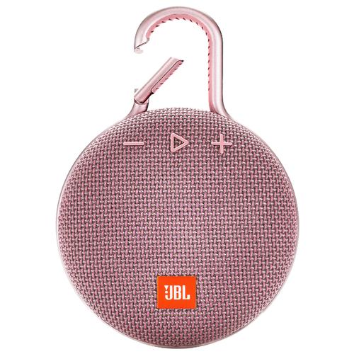 Купить Портативная акустика JBL CLIP 3 Dusty Pink