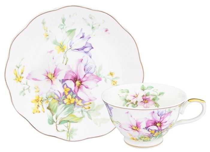Elan gallery Чайная пара Нежные цветы 504189