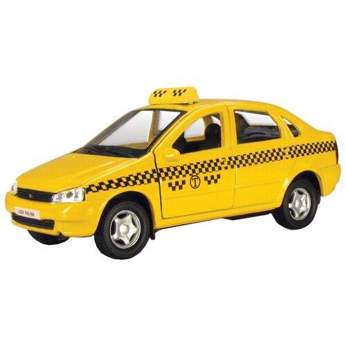 цены Легковой автомобиль Autotime (Autogrand) Lada Kalina такси (11497) 1:34 желтый/черный