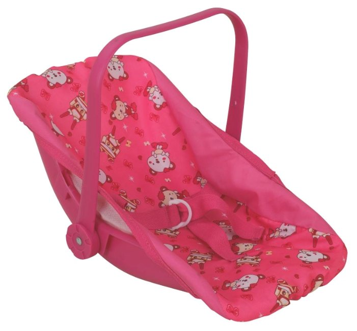 Переноска Buggy Boom Loona 8780-4 розовый с мишками