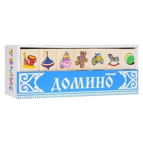 цена на Настольная игра Томик Домино Игрушки