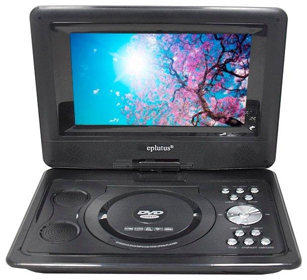 Eplutus EP-1030T портативный DVD плеер с цифровым тюнером DVB-T2
