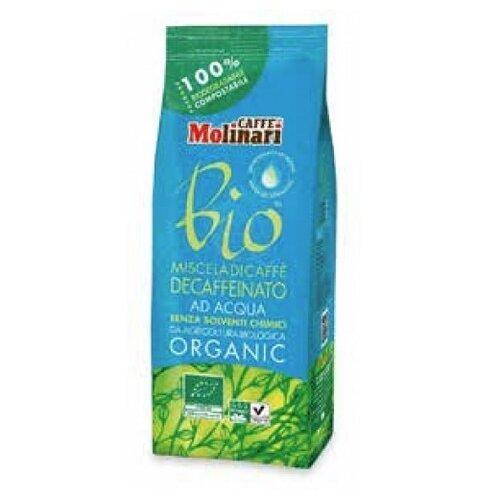 Кофе молотый Molinari Organic Bio Decaffeinato без кофеина 250 гМолотый кофе<br>