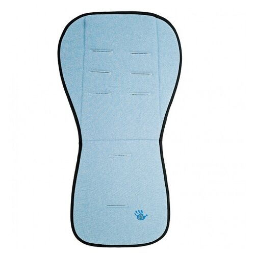Купить Матрас для прогулочной коляски Altabebe Lifeline Polyester 85 x 44 голубой, Матрасы и наматрасники