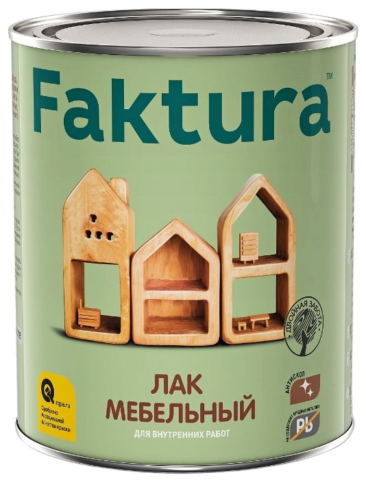 Лак Faktura Мебельный (0.7 л)