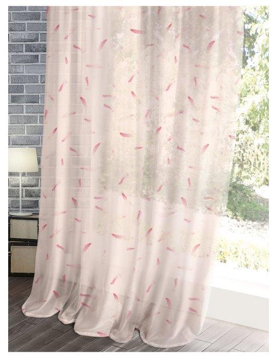 Гардины Волшебная ночь Лофт Flamingo 720435 на ленте 270 см
