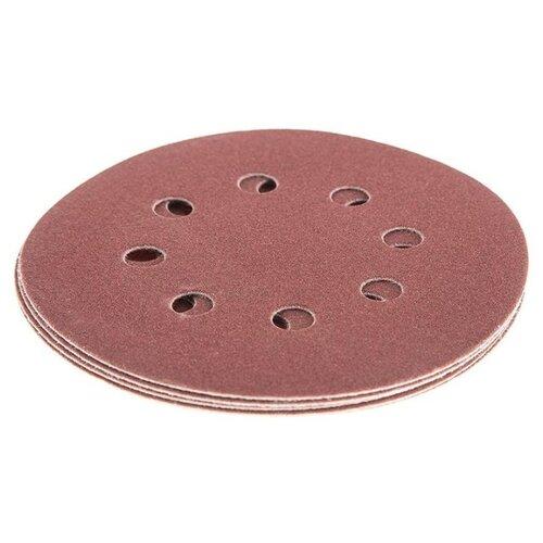 Шлифовальный круг на липучке Hammer 214-006 125 мм 5 шт шлифовальный круг на липучке hammer 214 011 125 мм 5 шт
