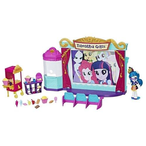 Купить Набор с мини-куклой Hasbro Equestria Girls Кинотеатр, 12 см, C0409, My Little Pony, Куклы и пупсы