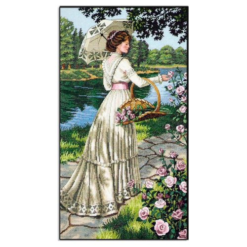 Купить Dimensions Набор для вышивания A Summer Stroll (Летняя прогулка) 25 х 46 см (03868), Наборы для вышивания