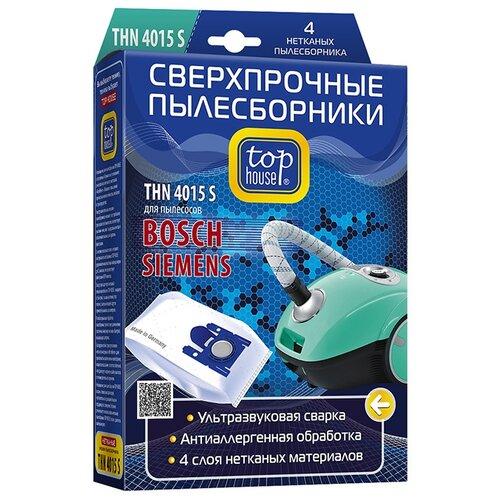 цена на Top House Пылесборники THN 4015 S белый 4 шт.