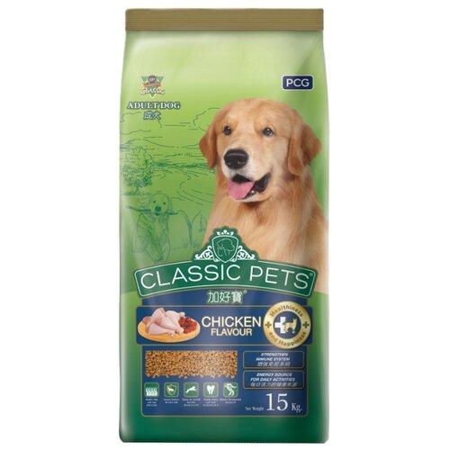 Корм для собак Classic Pets (15 кг) Сухой корм для взрослых собак всех пород с курицей