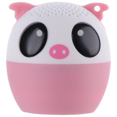 Портативная акустика ZDK 3W400 KIDS Pig розовый поросенок
